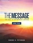 The Message Bible Large Print