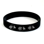 All In Silicone Bracelet