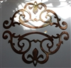Decorative Accent Corners (2) Metal Wall Art Decor