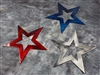 Patriotic Stars Trio Metal Wall Art