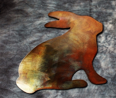 Arizona Hare Metal Wall Art
