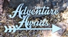 Adventure Awaits Metal Art Sign