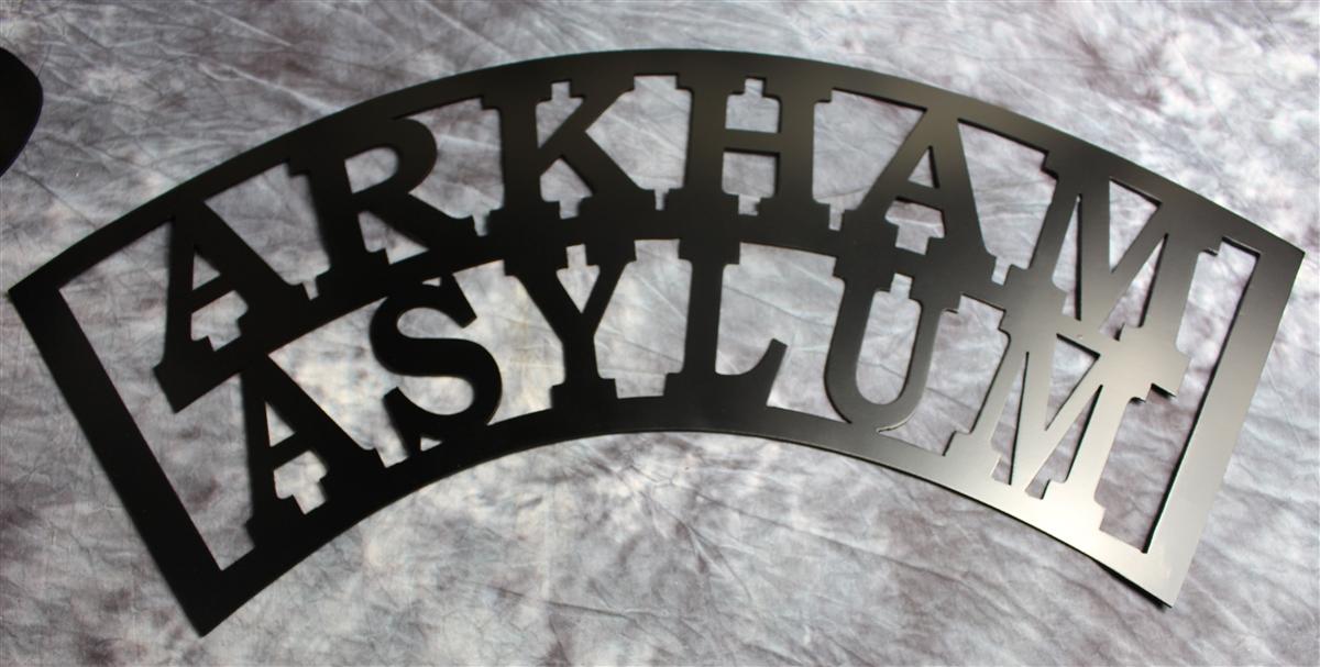 Arkham Asylum Metal Wall Art 29 1 2 Quot Wide