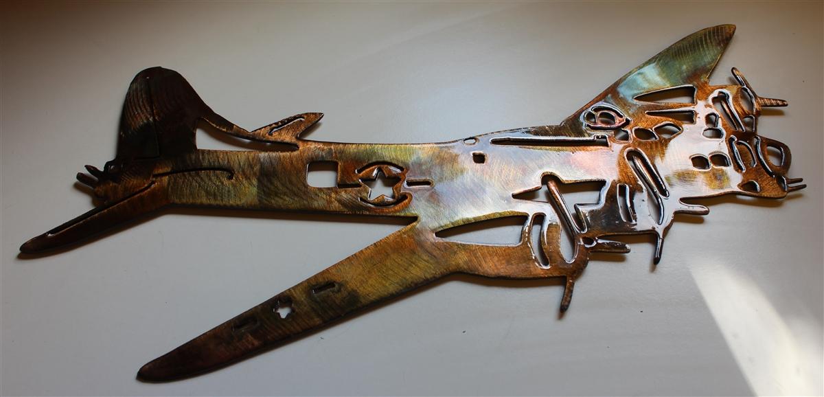 5ad69c514c4 B-17 Metal Wall Art
