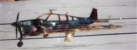 Beechcraft Bonanza Metal Art