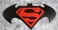 Batman VS. Superman Metal Wall Art