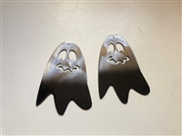 Ghostly Boos Metal Wall Art Accents