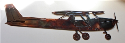 Cessna 150 Metal Wall Art