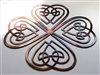Celtic Shamrock Metal Wall Art