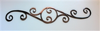 "Decorative Scroll 24"" Wide"
