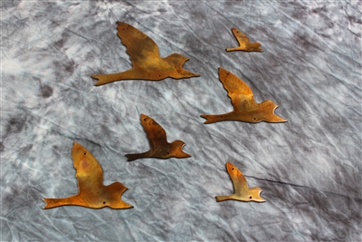 Flying Birds Metal Wall Art