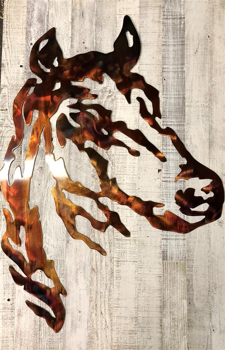 modern western decor.htm horse head metal wall art western decor 40  tall  horse head metal wall art western decor