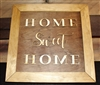 Home Sweet Home Wooden Home Decor