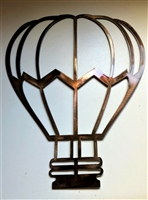 Hot Air Balloon Metal Wall Art