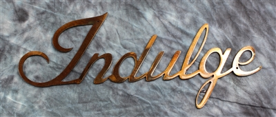Indulge Metal Wall Art Accent