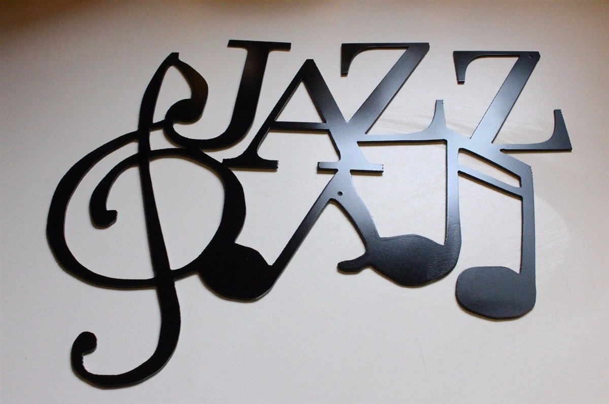 JAZZ Wall Art with Musical Notes by HGMW & Email