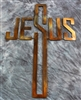 Jesus Cross Metal Wall Art