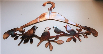 Bird Hanger Metal Art