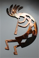 "Arizona Kokopelli Metal Wall Art Decor Style 4 (17"")"