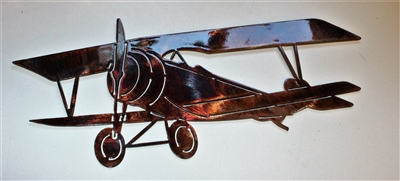 Bi-Wing Metal Wall Art
