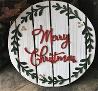 Merry Christmas Pallet Wood Sign