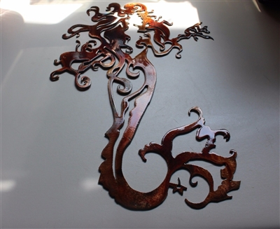 Mermaid Metal Wall Art