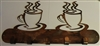 Coffee Cups Mug/Kitchen Utensil Rack - Copper/Bronze