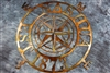 "Nautical Compass Rose 25"" Customized"