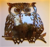 Owl Metal Wall Art piece by HGMW
