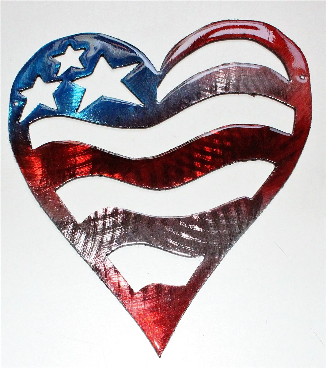 Starheartrwb7 2g1494789078 patriotic heart metal wall art amipublicfo Images