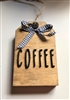 Tiered Tray Coffee Tag