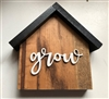 Small House Wood Decor Home  Grow Tiered Tray