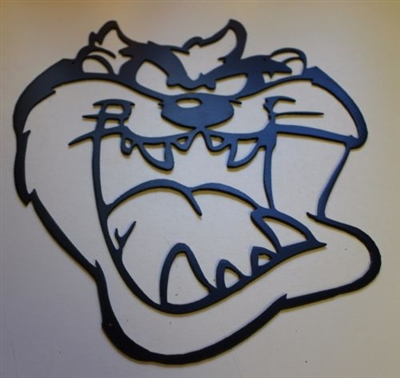 Taz Head Metal Wall Art Decor