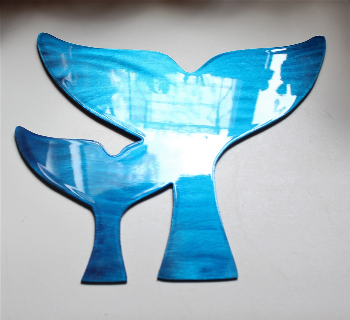 Blue Metal Wall Decor Custom Email Review