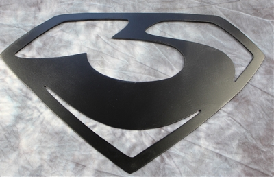 General Zod Metal Art