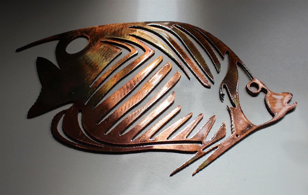 Octopus Metal Art
