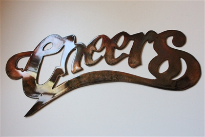 Cheers Metal Wall Art Accent
