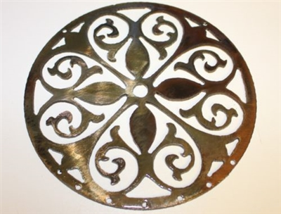 Ornamental Circle 2 Metal Art Decor