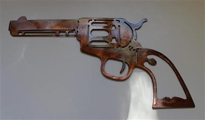 Colt 1873 Peacemaker Metal Wall Art