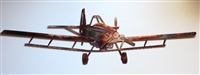 Crop Duster Metal Wall Art  Airplane