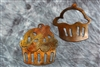 Cupcake Pair Metal Wall Accents
