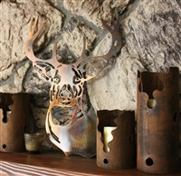 Deer Head Metal Wall Art