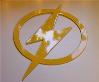 The Flash Metal Wall Art