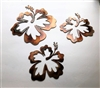 Hawaiian Hibiscus Flower Tropical 3 piece Set/Trio