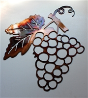 Metal Wall Art Grapes