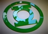Green Lantern Metal Wall Art