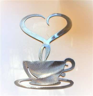 Steamed with Love Metal Wall Art
