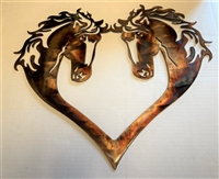 HORSE HEART SILHOUETTE