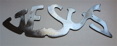 Jesus Metal Wall Art Fish