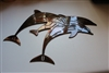 Jumping Dolphin Metal Art